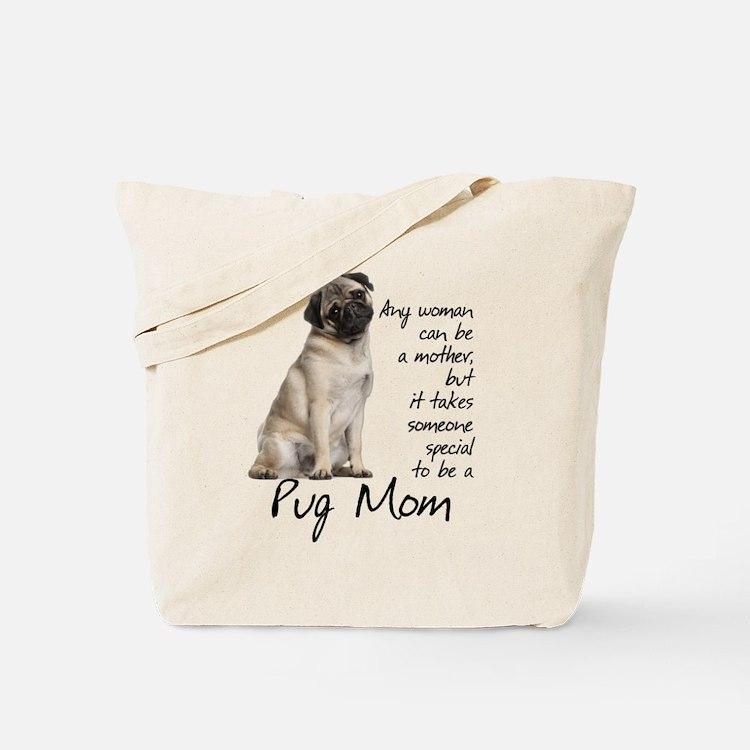 Pug Purse Tote Bag