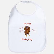 First Thanksgiving Bib