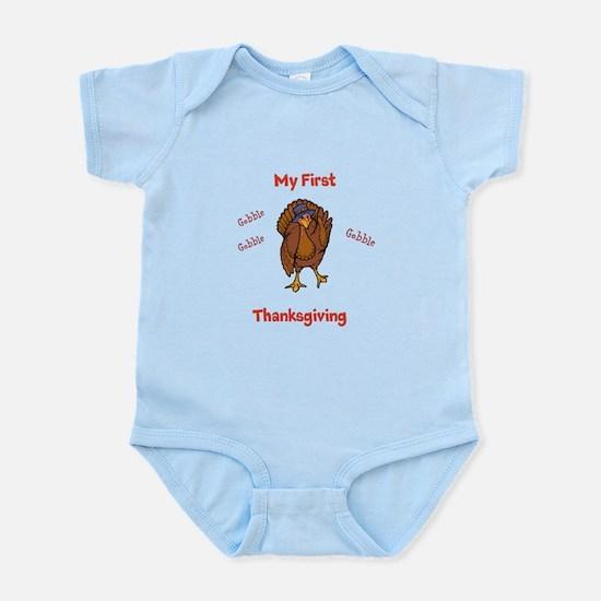 First Thanksgiving Infant Bodysuit