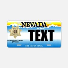 Nevada Police Officer Custom License Plate