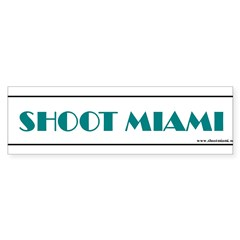 Shoot Miami Photographers Bumper Sticker