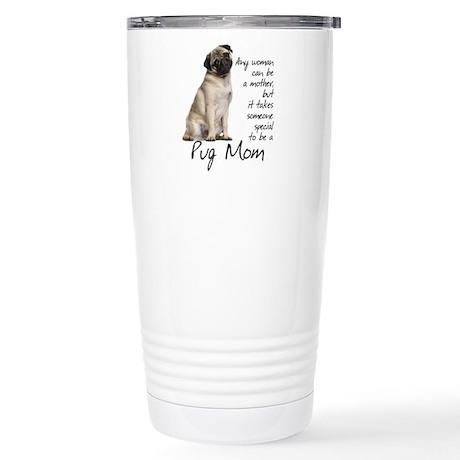 Pug SIGG Stainless Steel Travel Mug