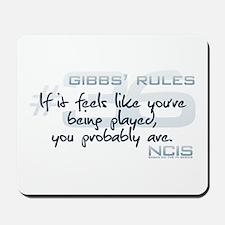 Gibbs' Rules #36 - Feels Like Mousepad