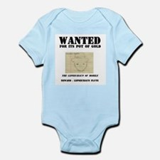 Wanted: Leprechaun Infant Creeper