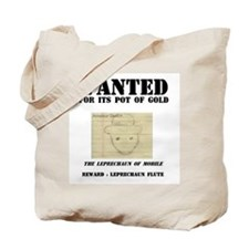Wanted: Leprechaun Tote Bag