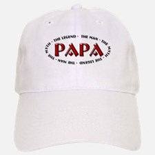 Papa - The Legend Baseball Baseball Cap