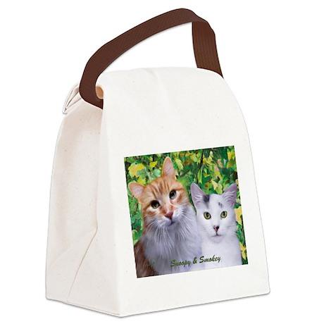 Snoopy & Smokey Canvas Lunch Bag