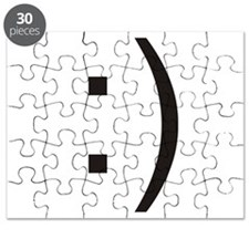 Text Smiley Face Puzzle