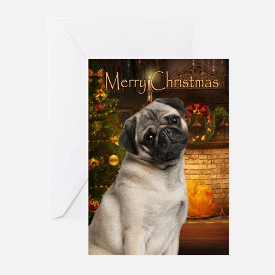Pug Christmas Cards (Pk of 20)