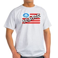 """Traitor: Barack Obama"" T-Shirt"