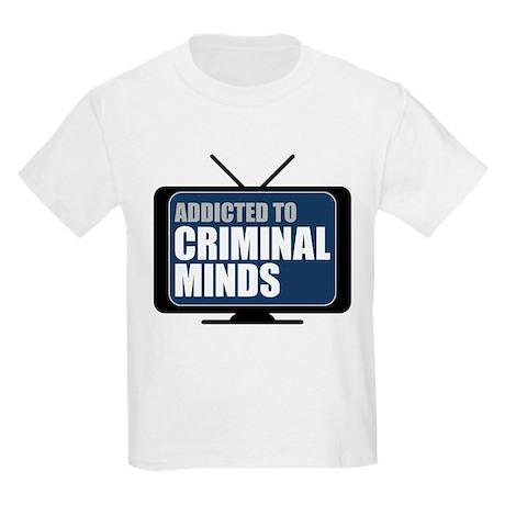 Addicted to Criminal Minds Kids Light T-Shirt