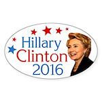 Hillary Clinton 2016 oval bumper sticker