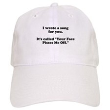 I wrote a song for you Baseball Cap