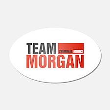 Team Morgan 38.5 x 24.5 Oval Wall Peel