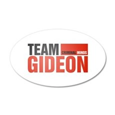 Team Gideon 38.5 x 24.5 Oval Wall Peel