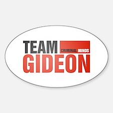 Team Gideon Oval Decal
