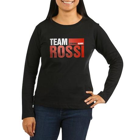 Team Rossi Women's Dark Long Sleeve T-Shirt