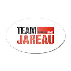 Team Jareau 38.5 x 24.5 Oval Wall Peel