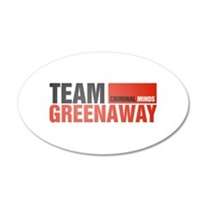 Team Greenaway 38.5 x 24.5 Oval Wall Peel