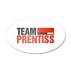 Team Prentiss 38.5 x 24.5 Oval Wall Peel