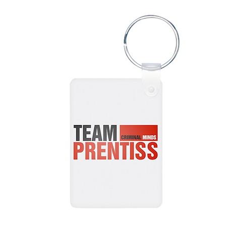 Team Prentiss Aluminum Photo Keychain