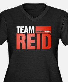 Team Reid Women's Dark Plus Size V-Neck T-Shirt