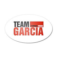 Team Garcia 38.5 x 24.5 Oval Wall Peel