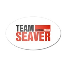 Team Seaver 38.5 x 24.5 Oval Wall Peel