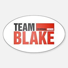 Team Blake Oval Decal