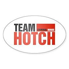 Team Hotch Oval Decal