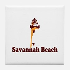 Savannah Beach GA - Lighthouse Design. Tile Coaste