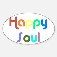 Happy Soul Rectangle Decal