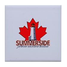 Summerside Lighthouse Tile Coaster