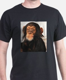 Monkey! Black T-Shirt
