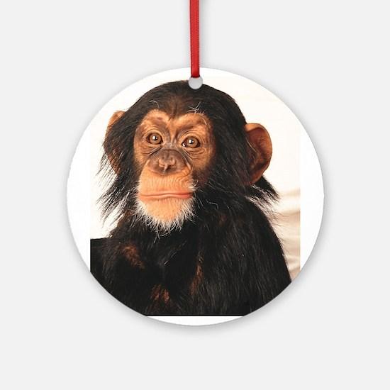 Monkey! Ornament (Round)