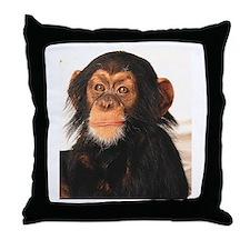 Monkey! Throw Pillow
