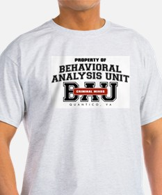Property of Behavioral Analysis Unit - BAU T-Shirt