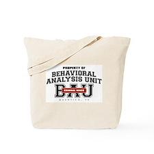 Property of Behavioral Analysis Unit - BAU Tote Ba