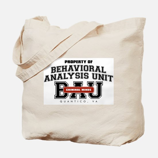 Property of Behavioral Analysis Unit - BAU Tote Ba