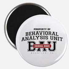 Property of Behavioral Analysis Unit - BAU Magnet