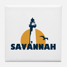 Savannah Beach GA - Lighthouse Design. Tile Coaste