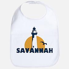 Savannah Beach GA - Lighthouse Design. Bib