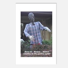 Zombies in the Garden Postcards (Package of 8)