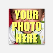 "Custom Photo Square Sticker 3"" x 3"""