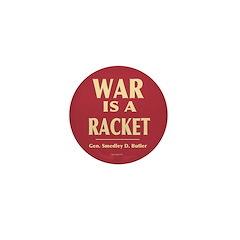 War Is A Racket Mini Button (100 pack)