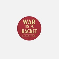War Is A Racket Mini Button