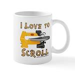 Ilovetoscroll Mug Mugs