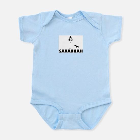 Savannah Beach GA - Lighthouse Design. Infant Body