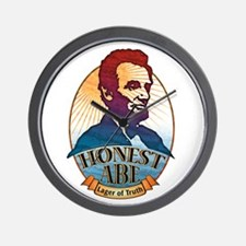 Honest Abe Lincoln Wall Clock