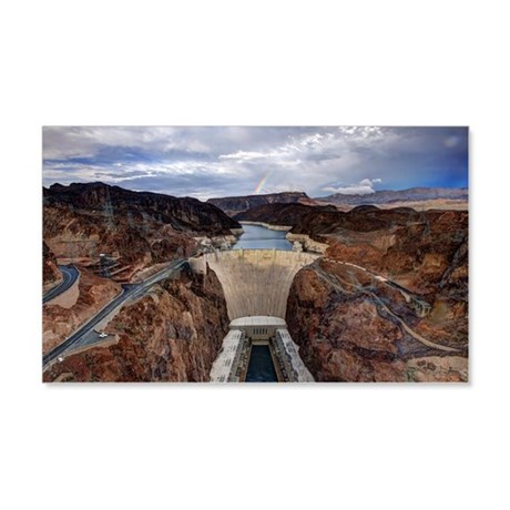 Hoover Dam 20x12 Wall Decal